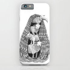 Stack of Sheep- Feathered iPhone 6 Slim Case