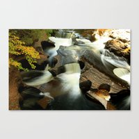 Fall From The Bridge Canvas Print