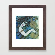 Violon d'Ingres Framed Art Print
