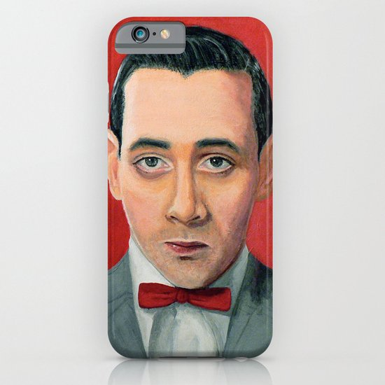 Pee-Wee Herman, A portrait iPhone & iPod Case