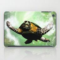 Cute Seaturtle iPad Case