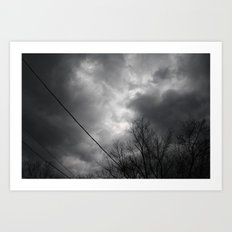 Storms Approaching Art Print