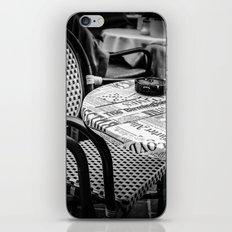 Chair in Vienna iPhone & iPod Skin
