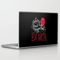 french Laptop & iPad Skins featuring French Poppa by Chris Piascik