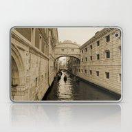 Bridge Of Sighs, Venice,… Laptop & iPad Skin