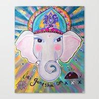 Jai Ganesha  Canvas Print