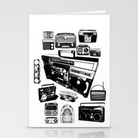 Radios Stationery Cards