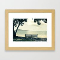 Take a Seat Framed Art Print