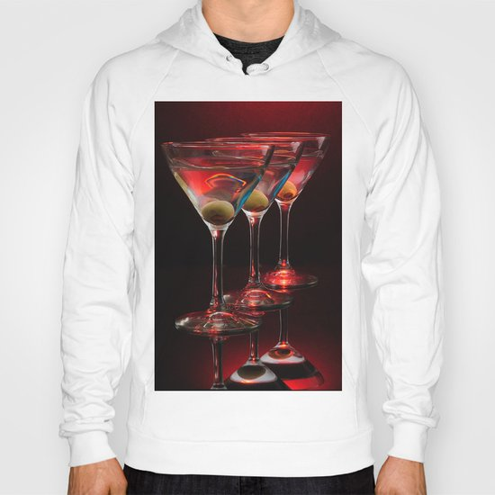 Red hot martinis. Hoody