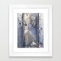 Frost Owl Framed Art Print