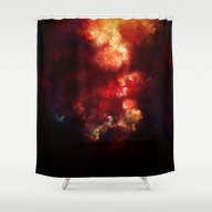 Shower Curtain featuring Space by Sventine