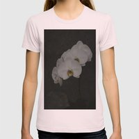 White Orchid Womens Fitted Tee Light Pink SMALL