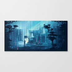Fallen City Canvas Print