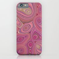 Mineralicious-Pink Agate iPhone 6 Slim Case