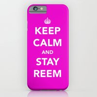 Keep calm and stay reem iPhone 6 Slim Case