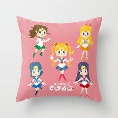 sailor moon Throw Pillow