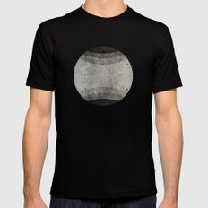 Beyond SMALL Black Mens Fitted Tee