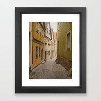 Italian Alley - Bright C… Framed Art Print