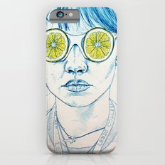 Lemon Lady Slim Case iPhone 6s