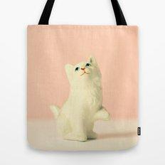 Vintage Kitten Tote Bag