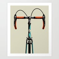 Bike Portrait 3 Art Print