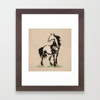 Ancient Recreation Framed Art Print