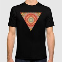 Mind Bending Trip Mens Fitted Tee Black SMALL