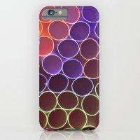 FLUO CIRCLES iPhone 6 Slim Case
