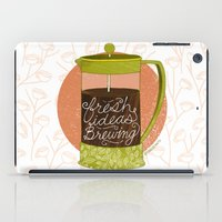 French Pressed Ideas  iPad Case