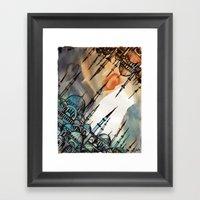 Cross Continents Framed Art Print