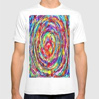 Circle Of Love Mens Fitted Tee White SMALL