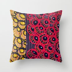 She Sells Shells by the Sea Shore Throw Pillow