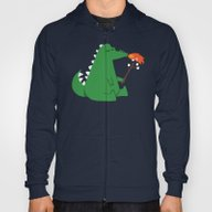 Dragon And Marshmallow Hoody