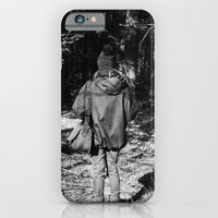 Girl in the Woods iPhone 6 Slim Case