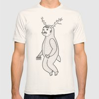 On the inconveniences of dressing up as an animal. Mens Fitted Tee Natural SMALL