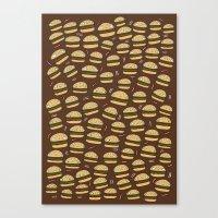 Cheeseburgers Canvas Print