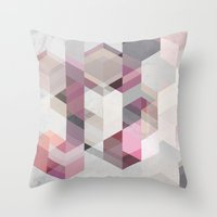 Nordic Combination 22 Y Throw Pillow