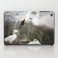 Tom Feiler Swan And Her … iPad Case