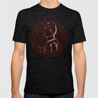 Prince Edward Mens Fitted Tee Tri-Black SMALL