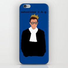 Notorious R.B.G. iPhone & iPod Skin