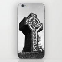 Celtic memorial iPhone & iPod Skin