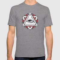 Don't Trust... Mens Fitted Tee Tri-Grey SMALL