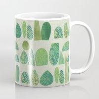 Watercolour Topiary Mug