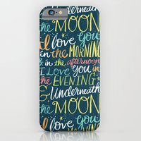 iPhone & iPod Case featuring I LOVE YOU IN THE MORNING (color) by Matthew Taylor Wilson