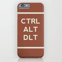 CTRL ALT DLT iPhone 6 Slim Case