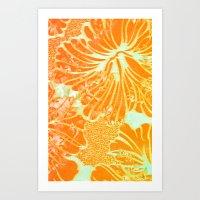 Tropic Sun Art Print