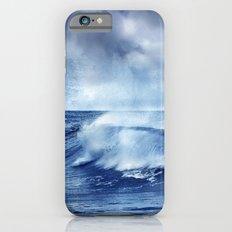 Blue wave iPhone 6 Slim Case