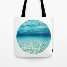 Under Water 9 Tote Bag
