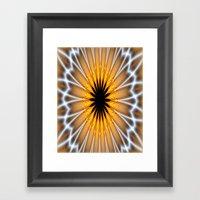 Spiders Web Framed Art Print
