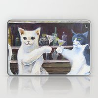 Social Cats  Laptop & iPad Skin